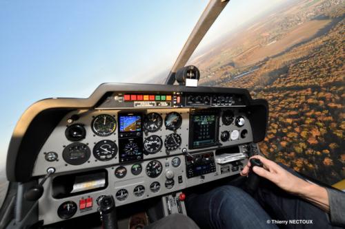 En vol DR400-180